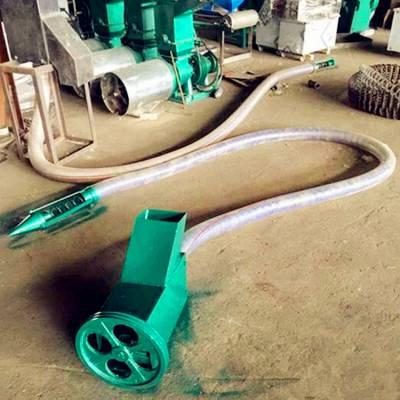 三轮车用装粮输送机 6米长软管吸粮机 兴运批发零售收粮机