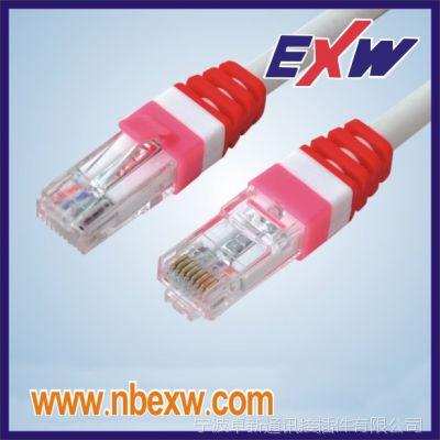 厂家代工品牌与直销高品质七类超六类超五类非屏蔽网络跳线水晶头