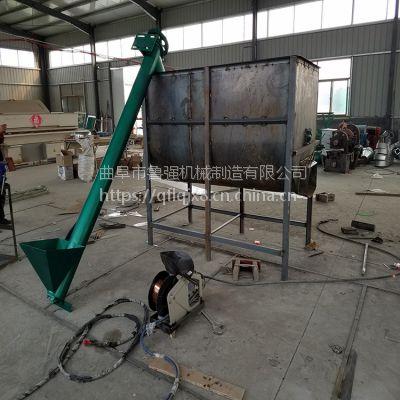 自动上料机 管式提升机型号 8米螺旋饲料机厂家鲁强机械