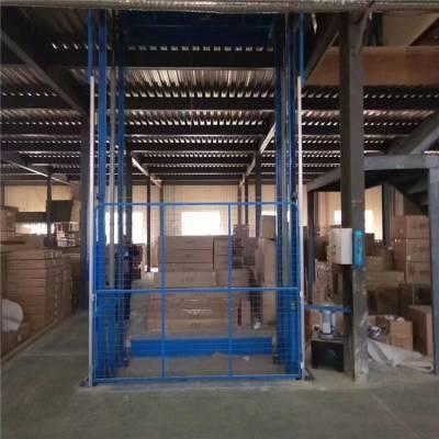 洛阳2吨车间载货升降平台/2楼液压升降货梯厂家报价