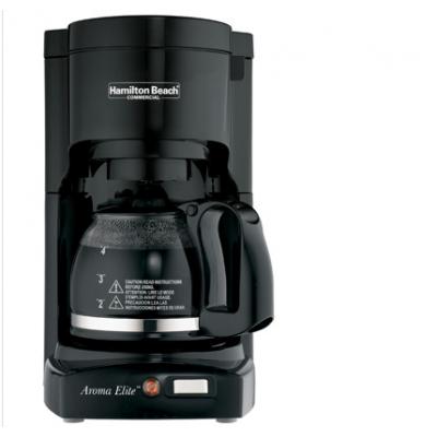 美国咸美顿Hamilton Beach HDC700B 4杯滴漏式咖啡机、美国咸美顿