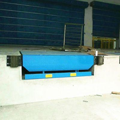 定做DCQG-8T固定式登车桥 电动升降卸货平台 液压升降搬运设备