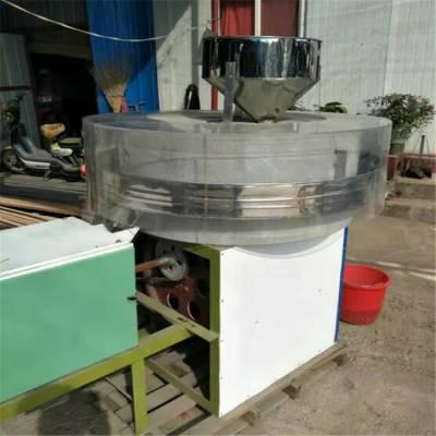 全自动杂粮面粉石磨机粗粮加工设备面粉石磨机