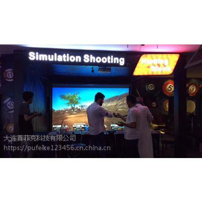 SRS竞技枪王实感模拟射击体验馆如何加盟_3d模拟射击设备