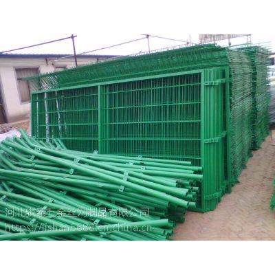 供应优质框架护栏 草绿色框架护栏现货