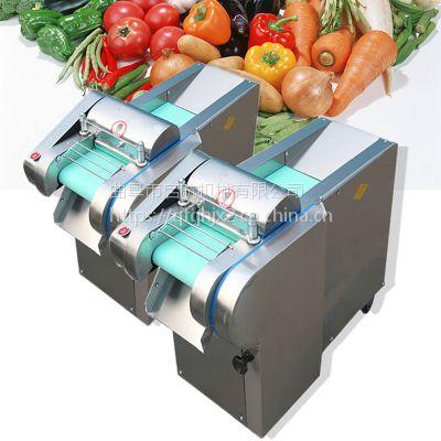 家用电动小型多功能切菜机 启航牌地瓜切片机