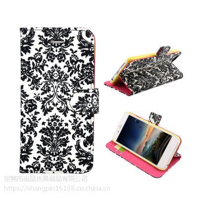 速卖通货源 棉布手机保护壳 6.5寸翻盖式全面屏手机皮套 广州工厂