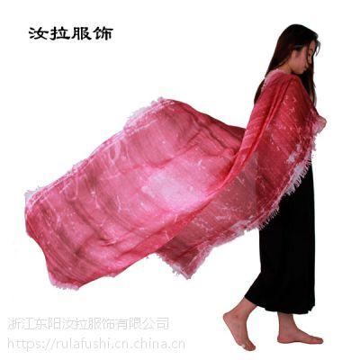 围巾生产厂家选汝拉服饰,专做印花围巾生产厂家, 15天交货