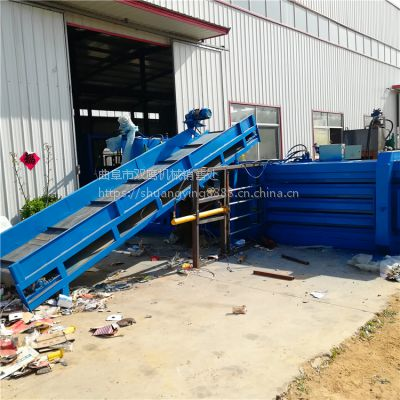 南安铁麒麟牌20吨秸秆液压打包机商机
