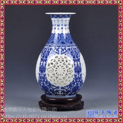 花瓶落地客厅 装饰花瓶现代简约 花瓶柱价格 花瓶批发
