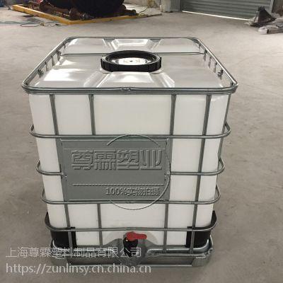 金华 全新1000L大口径吨桶 IBC集装桶 千升桶 PE吨装运输桶