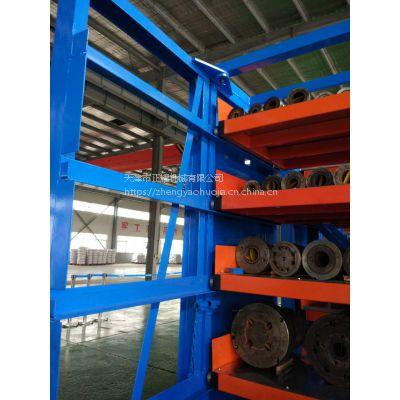 上海重型货架承重 伸缩抽屉式货架定做 异型管材图片