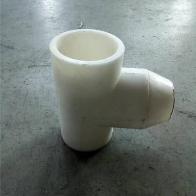 长期提供聚丙烯材质PP异径三通质量三包服务