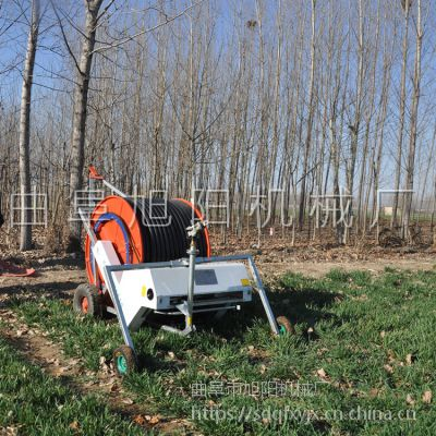 厂家供应农用卷盘式喷灌机自走式小麦灌溉机耕地专用浇水机