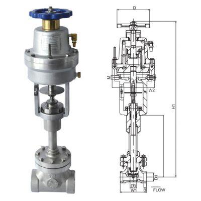 液氮液氧LNG储槽用DJ661F-40P低温紧急切断阀