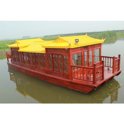 江南船厂 厂家 供应广东 观光 单层画舫旅游船多少钱