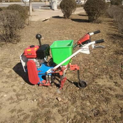 厂家直销玉米大豆播种机 手扶拖拉机耘地机 汽油式多用机
