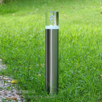直销工程款户外草坪灯led超亮路灯新农村防水室外低杆简约不锈钢灯具