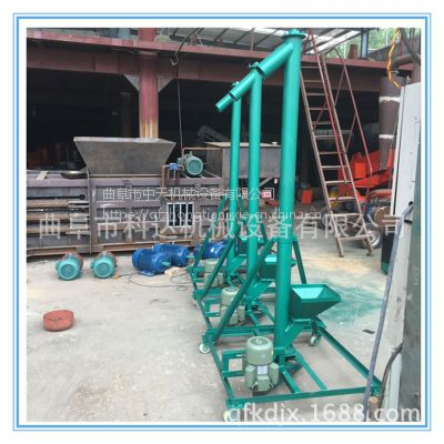 现货螺旋提升机送料机江阴 粉末螺旋提升机电话 来图生产中天