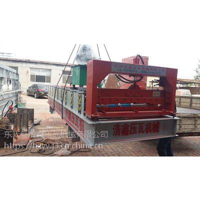 河北浩鑫压瓦机厂家直供加宽型压瓦机 全自动1050型压瓦机