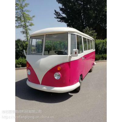 移动早餐车流动售货车广告展示车复古美食车