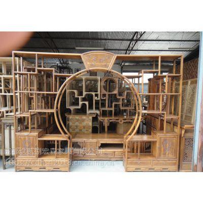 中式专业定制办公屏风实木屏风禅意家具