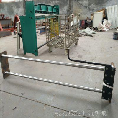 彩钢压瓦机配件压瓦机1.2米手拉刀压瓦机设备彩钢瓦机厂家直销