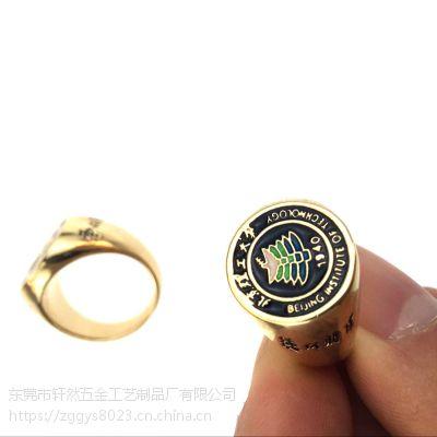 图腾戒指 欧美速卖通男士爆款个性加工花边戒指 雕花铜饰指环订做