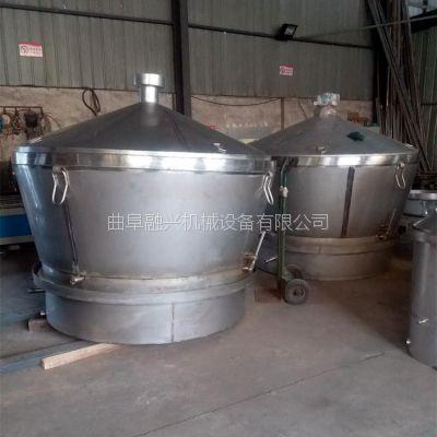 邛莱夹层聚热保温酿酒设备 烤酒机械 1000斤粮食白酒设备 粮食粉碎机售价