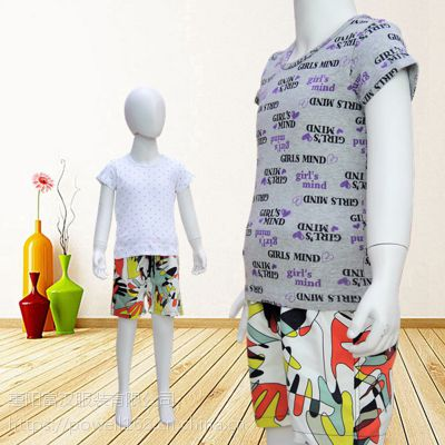日式儿童印花短袖T恤童装新款夏季舒适透气精梳罗纹纯棉一件代发男女童夏装