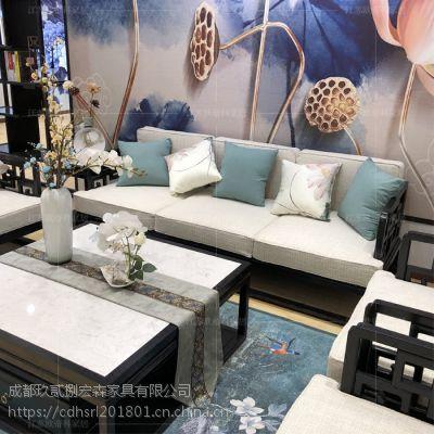 重庆新中式火锅店家具定制 重庆古典中式茶楼家具