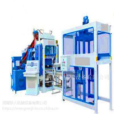 全自动免烧透水砖机 HZ-28型彩色面包砖机 新型水泥砖机