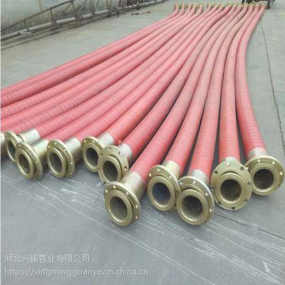 厂家生产大口径夹布输水胶管 钢丝铠装大口径夹布输水胶管