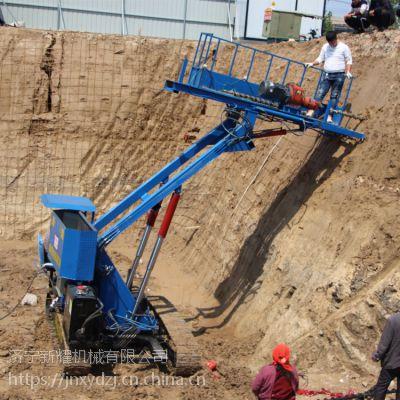 贵阳护坡桩机设备 锚杆钻机施工