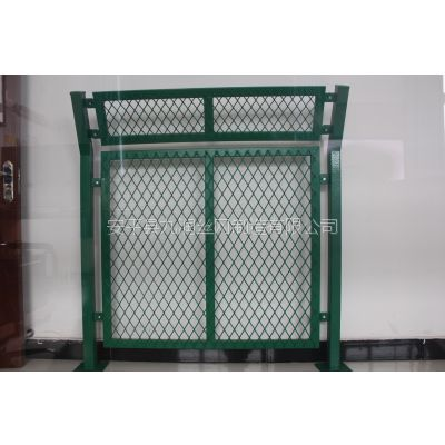 厂家供应桥梁防抛网钢板网护栏桥梁护栏