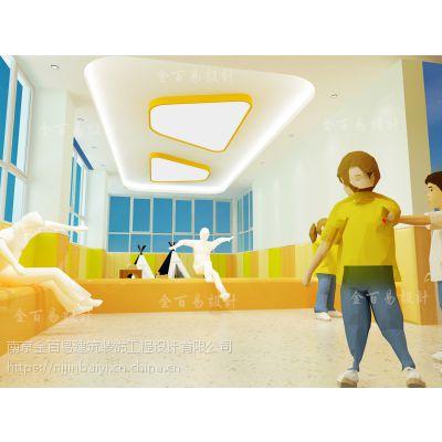 幼儿舞蹈教室装修/幼儿园设计/金百易专业教育空间设计公司