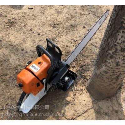 小型便携式挖树机 链锯式起树机浩发