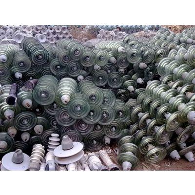 颖龙电力高价回收电力瓷瓶 防污绝缘子 陶瓷绝缘子价格