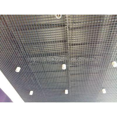 供应展览馆室内装饰专用黑色铝格栅吊顶