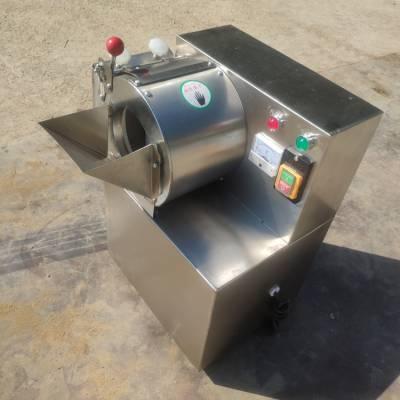 鹤岗市酒店后厨用小葱切段机 启航牌不锈钢型豆角切丁机 芸豆切丝机生产厂家