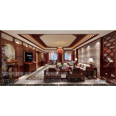 中式别墅装饰设计,古韵古味的空间美感 誉巢别墅装修 2018-04-23 14:20:54