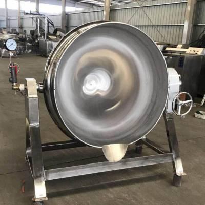 春泽机械出售不锈钢可倾式带搅拌夹层锅