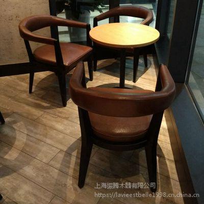 星巴克咖啡厅桌椅定做星巴克实木桌椅生产厂家