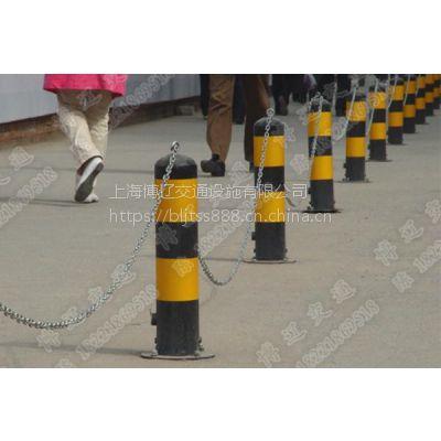 钢管警示柱 隔离柱 路障路桩 立柱锁 挡车柱 停车柱锁 隔离锁