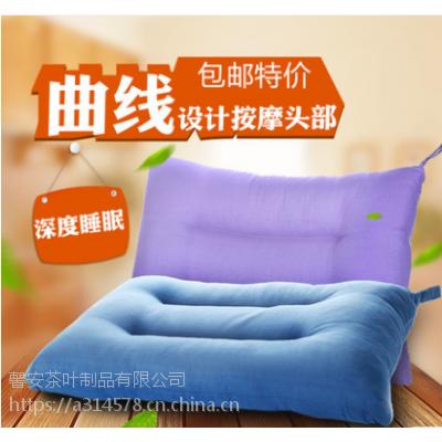 酒店用枕 老粗布 棉+荞麦壳