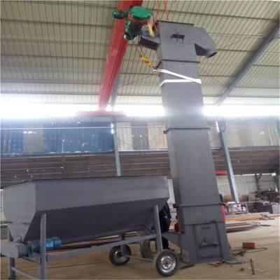 焊接斗式输送机 复合肥料提升机焊接斗式输送机