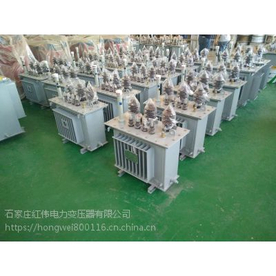 红伟电力厂家直销s9-30KVA油浸式变压器10/0.4全铜