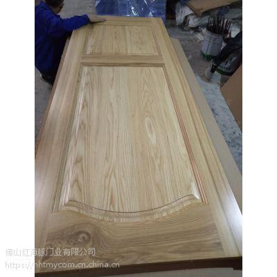 广东原木门厂橡木门厂工艺烤漆门门厂做清漆原木门热销