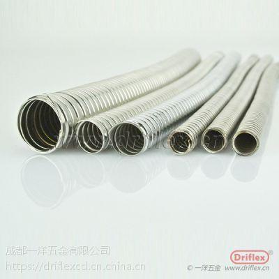 供应广东双扣金属软管 不锈钢304金属软管 P4型