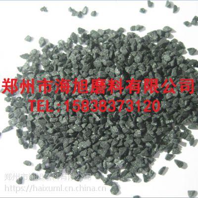 黑色熔融氧化铝黑刚玉砂河南海旭磨料厂家直销